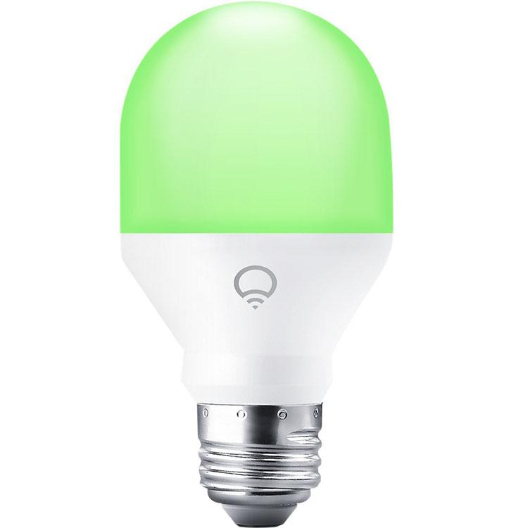 Умная лампа LIFX Mini Color (A19) E27 для iOS и AndroidУмные лампы<br>LIFX Mini Color — потрясающее дизайнерское решение для любого дома!<br><br>Цвет: Белый<br>Материал: Керамика, металл