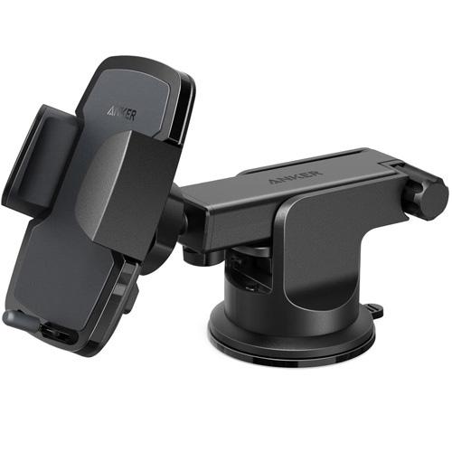 Автомобильный держатель Anker Dashboard Cell Phone Mount (A7142011) чёрныйАвтодержатели<br>Anker Dashboard Cell Phone Mount — автомобильный держатель, который гарантирует прочную и надежную фиксацию вашего мобильного устройства.<br><br>Цвет товара: Чёрный<br>Материал: Пластик, силикон