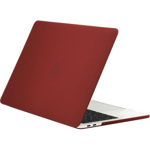 Чехол Crystal Case для MacBook Pro 13 с и без Touch Bar (USB-C) бордовыйMacBook Pro 13<br>Чехол Crystal Case для MacBook Pro 13 (NEW 2016 with TouchBar) - бордовый<br><br>Цвет: Красный<br>Материал: Поликарбонат