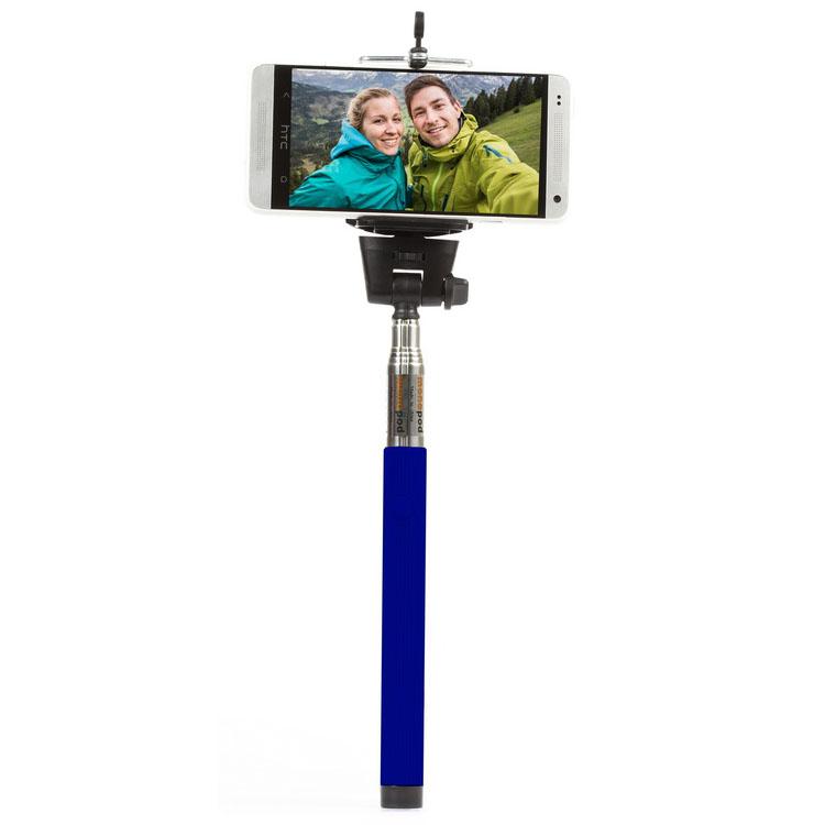 Монопод Smartbuy ONE Selfie Stick (SBMO-1000)/40 синийМоноподы<br>Smartbuy ONE Selfie Stick — это отличное решение для съемки селфи!<br><br>Цвет товара: Синий<br>Материал: Металл, пластик, резина