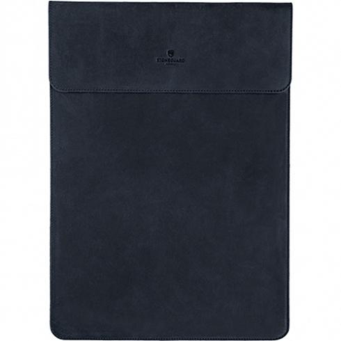 Кожаный чехол Stoneguard для MacBook 12 Retina синий Ocean (531)MacBook 12<br>Фетровая и кожаная текстуры — это классическое сочетание для тех, кто предпочитает благородные, качественные вещи.<br><br>Цвет: Синий<br>Материал: Натуральная кожа, фетр