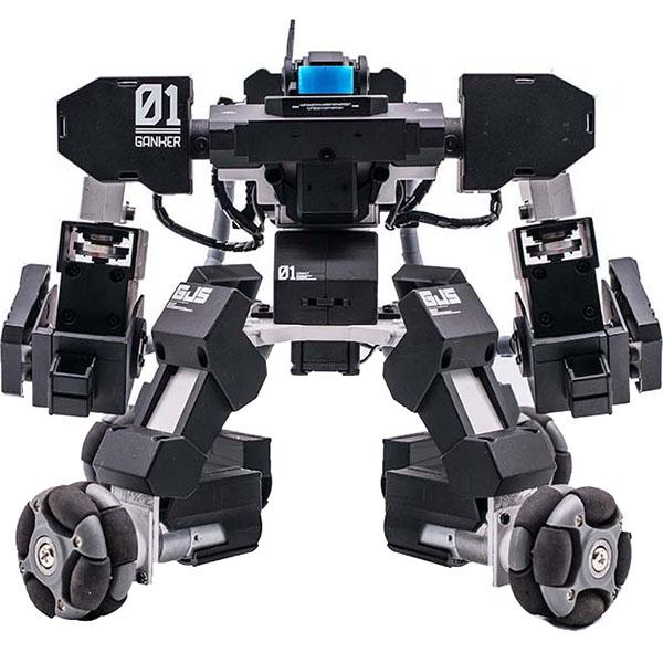 Боевой робот Ganker чёрныйРоботы<br>Ganker — боевой робот, который поразит вас своими способностями!<br><br>Цвет: Чёрный<br>Материал: Алюминий, пластик