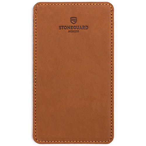 Кожаный чехол Stoneguard для iPhone 6/6s/7 Sand (511)