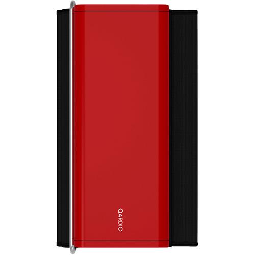 Тонометр Qardio QardioArm (A100-IBM) для iOS/Android красныйТонометры, термометры<br>Тонометр QardioArm измеряет систолическое и диастолическое артериальное давление и сердечный ритм.<br><br>Цвет товара: Красный<br>Материал: Пластик, стекло, текстиль