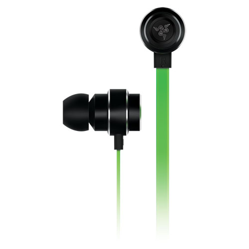 Наушники Razer Adaro In-EarsВнутриканальные наушники<br>С Razer Adaro In-Ears вы сможете услышать музыку по-новому!<br><br>Цвет: Чёрный<br>Материал: Алюминий, силикон