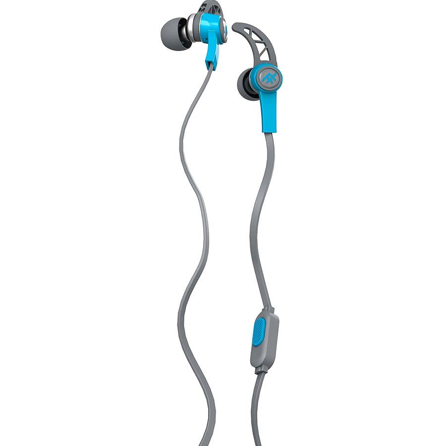 Наушники iFrogz Summit EarBuds синиеВнутриканальные наушники<br>Небольшие динамики наушников выдают отличного качества звук, глубокий и насыщенный от самых ярких высоких до бархатных басовых нот.<br><br>Цвет товара: Синий<br>Материал: Пластик, силикон