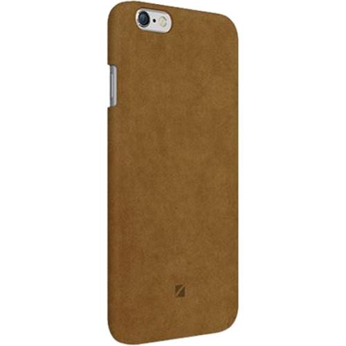 Чехол Moodz Alcantara Hard для iPhone 7 (Айфон 7) Camel бежевыйЧехлы для iPhone 7<br>Чехол Moodz для iPhone 7 Alcantara Hard Camel (beige)<br><br>Цвет товара: Бежевый<br>Материал: Алькантра, Поликарбонат