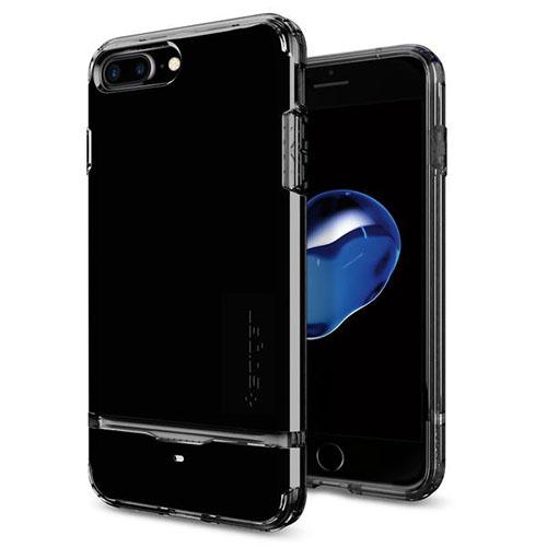 Чехол Spigen для iPhone 7 /8 Plus (Айфон 8 Плюс) Flip Armor ультрачерный (SGP-043CS20853)Чехлы для iPhone 7 Plus<br>Чехол Spigen для iPhone 7 Plus Flip Armor ультра-черный (043CS20853)<br><br>Цвет товара: Чёрный<br>Материал: Поликарбонат, полиуретан