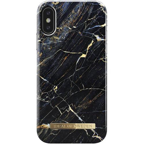 Чехол iDeal of Sweden Fashion Case для iPhone X (Port Laurent Marble)Чехлы для iPhone X<br>Чехол iDeal of Sweden Fashion Case станет истинным украшением самого лучшего смартфона!<br><br>Цвет товара: Чёрный<br>Материал: Пластик, замша