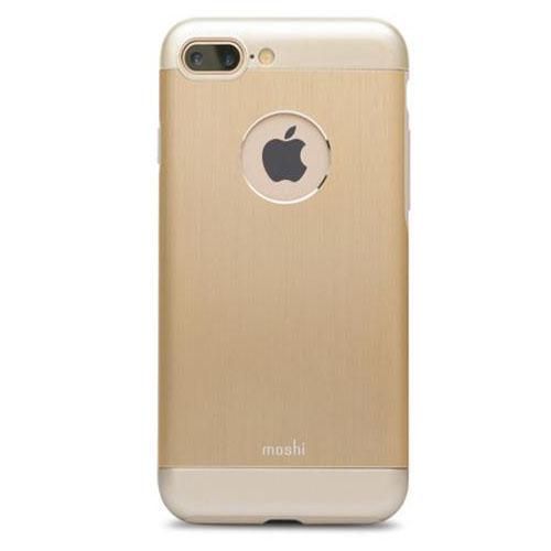Чехол Moshi Armour для iPhone 7 Plus (Айфон 7 Плюс) золотойЧехлы для iPhone 7 Plus<br>Moshi Armour - это непревзойденный внешний вид и надежная защита.<br><br>Цвет товара: Золотой<br>Материал: Металл, поликарбонат