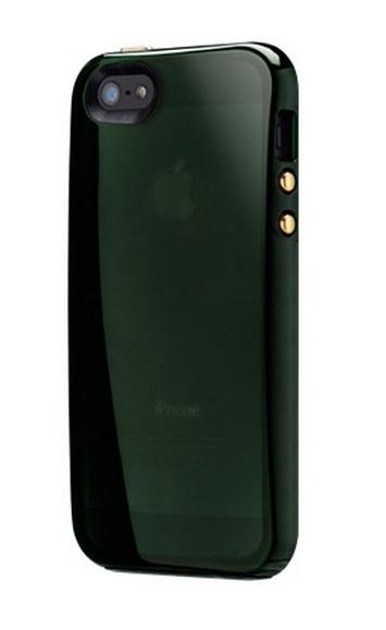 Чехол SwitchEasy Shades для iPhone 5/5S/SE Темно-зеленый