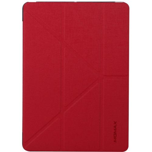 Чехол Momax Flip Cover для iPad (2017) красныйЧехлы для iPad (2017)<br>Чехол Momax Flip Cover — отличная пара для вашего iPad (2017).<br><br>Цвет товара: Красный<br>Материал: Эко-кожа, пластик