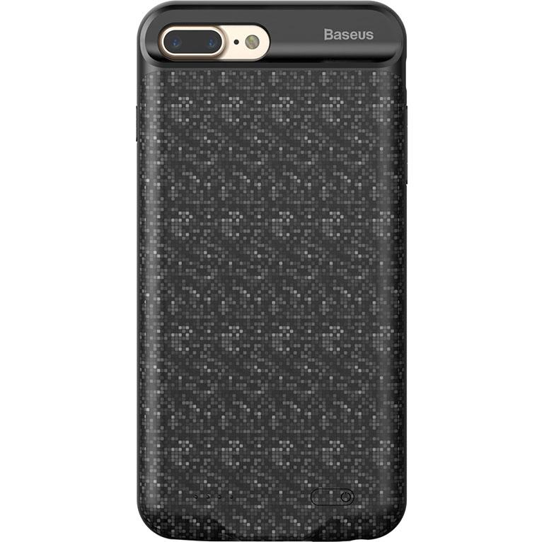 Чехол-аккумулятор Baseus Plaid Backpack Power Bank 3560 mAh для iPhone 7 Plus чёрныйЧехлы для iPhone 7 Plus<br>Стильный и надежный чехол от Baseus обеспечит ваш iPhone 100% защитой и энергией!<br><br>Цвет товара: Чёрный<br>Материал: Полиуретан, поликарбонат