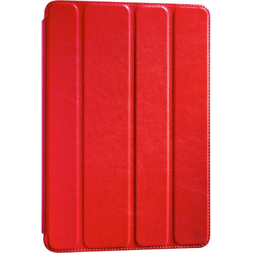 Чехол Hoco Crystal Series Leather для iPad Pro 9.7 красныйЧехлы для iPad Pro 9.7<br>Чехол Hoco Crystal для Apple iPad Pro 9.7 - красный<br><br>Цвет товара: Красный<br>Материал: Натуральная кожа, поликарбонат
