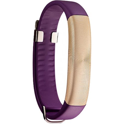 Датчик здоровья Jawbone UP2 для iOS/Android золотой/фиолетовыйБраслеты, кардиодатчики<br>Jawbone UP2 — это отличный инструмент, который поможет вам усвоить полезные привычки, стать активным, бодрым, научиться правильно питаться.<br><br>Цвет: Золотой<br>Материал: Ремешок: гипоаллергенная термополиуретановая резина медицинского класса; Корпус: анодированный алюминий; Застежка: олово с покрытием из нержавеющей стали