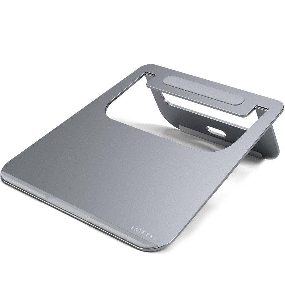 Подставка Satechi Aluminum Laptop Stand для MacBook серый космос (ST-ALTSM)Подставки для Mac<br>Алюминиевая подставка Satechi Aluminium Laptop Stand (ST-ALTSM) для Macbook серая<br><br>Цвет: Серый космос<br>Материал: Алюминий