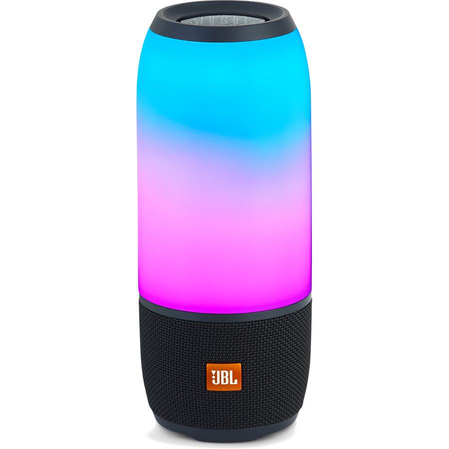 Акустическая система JBL Pulse 3 DiskoTime чёрнаяКолонки и акустика<br>Соединение звука и игры света станет удовольствием для глаз и ушей, подарив вам новый способ наслаждаться любимыми мелодиями там, где вам х...<br><br>Цвет товара: Чёрный<br>Материал: Пластик