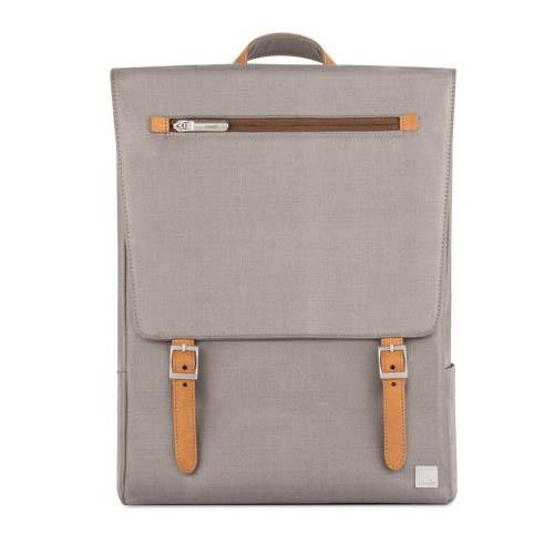 Рюкзак Moshi Helios Lite Designer для MacBook 13 серыйРюкзаки<br>Рюкзак Moshi Helios Lite Designer дизайнерский рюкзак для MacBook из погодоустойчивых материалов с элегантной кожаной отделкой.<br><br>Цвет товара: Серый<br>Материал: Текстиль, кожа