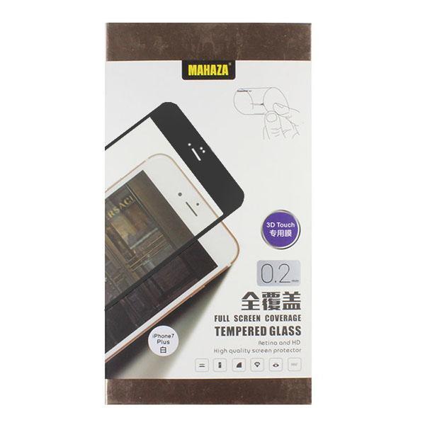Защитное стекло Mahaza 3D Glass для iPhone 7 Plus чёрноеСтекла/Пленки на смартфоны<br>Mahaza 3D Glass надежно оберегает экран смартфона.<br><br>Цвет товара: Чёрный<br>Материал: Стекло