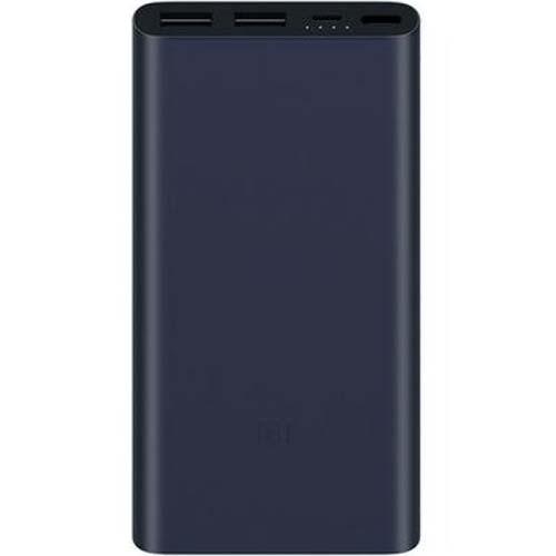 Дополнительный (внешний) аккумулятор Xiaomi Mi Power Bank 2 Dual 10000 мАч чёрныйДополнительные и внешние аккумуляторы<br>Xiaomi Mi Power Bank 2 Dual — незаменимый помощник для людей, живущих в современном ритме!<br><br>Цвет товара: Чёрный<br>Материал: Алюминий
