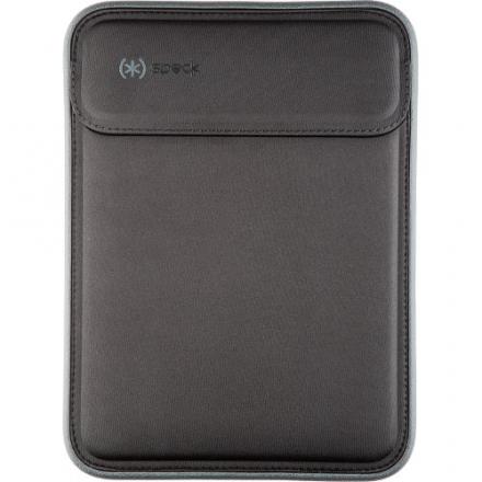 Чехол Speck Flaptop Sleeve для MacBook Air 11 чёрный / серыйЧехлы для MacBook Air 11<br>Чехол Speck Flaptop Sleeve для MacBook Air 11 чёрный / серый<br><br>Цвет товара: Чёрный<br>Материал: Текстиль