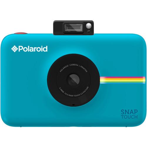 Фотоаппарат моментальной печати Polaroid Snap Touch синийВидеокамеры, очки, экшн-камеры<br>Polaroid Snap Touch — это улучшенная версия своего предшественника Polaroid Snap, оснащенная большим количеством настроек.<br><br>Цвет: Голубой<br>Материал: Пластик