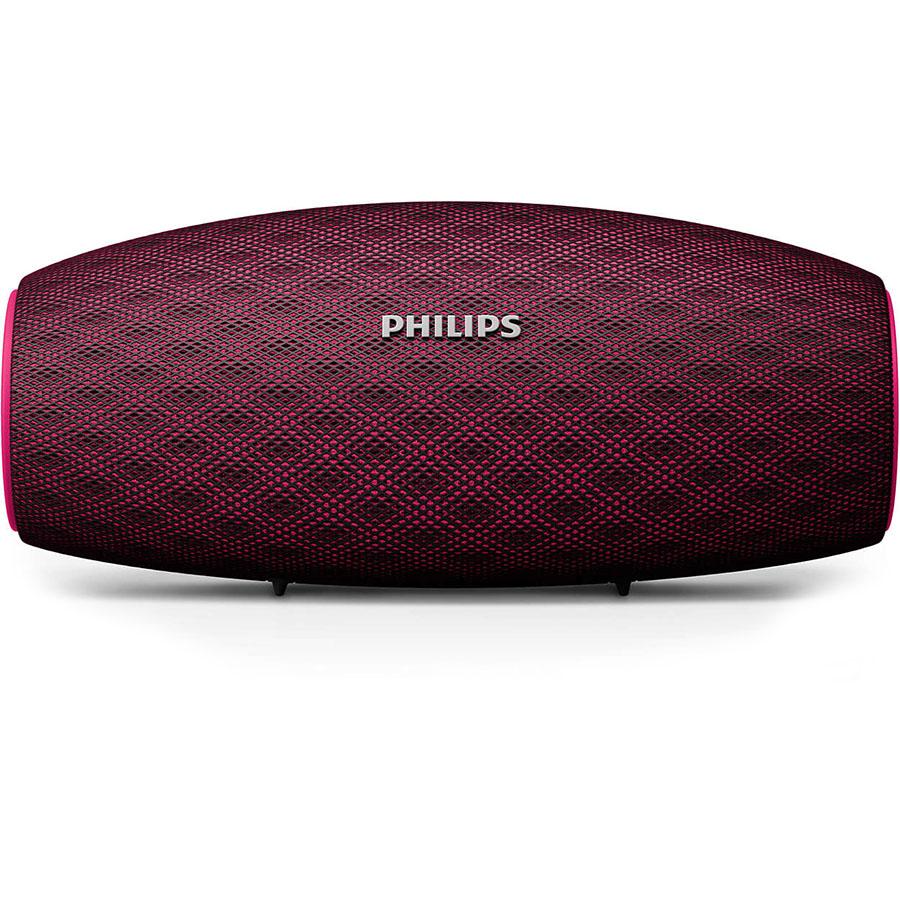 Портативная акустическая система Philips EverPlay (BT6900P/00) розоваяКолонки и акустика<br>EverPlay (BT6900) - надёжная, мощная и стильная портативная акустическая система!<br><br>Цвет товара: Розовый<br>Материал: Пластик, металл, резина