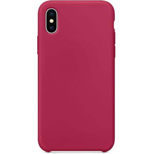 Силиконовый чехол YablukCase для iPhone X красная розаЧехлы для iPhone X<br>Лёгкий и практичный YablukCase — идеальная пара для вашего iPhone X!<br><br>Цвет товара: Красный<br>Материал: Силикон