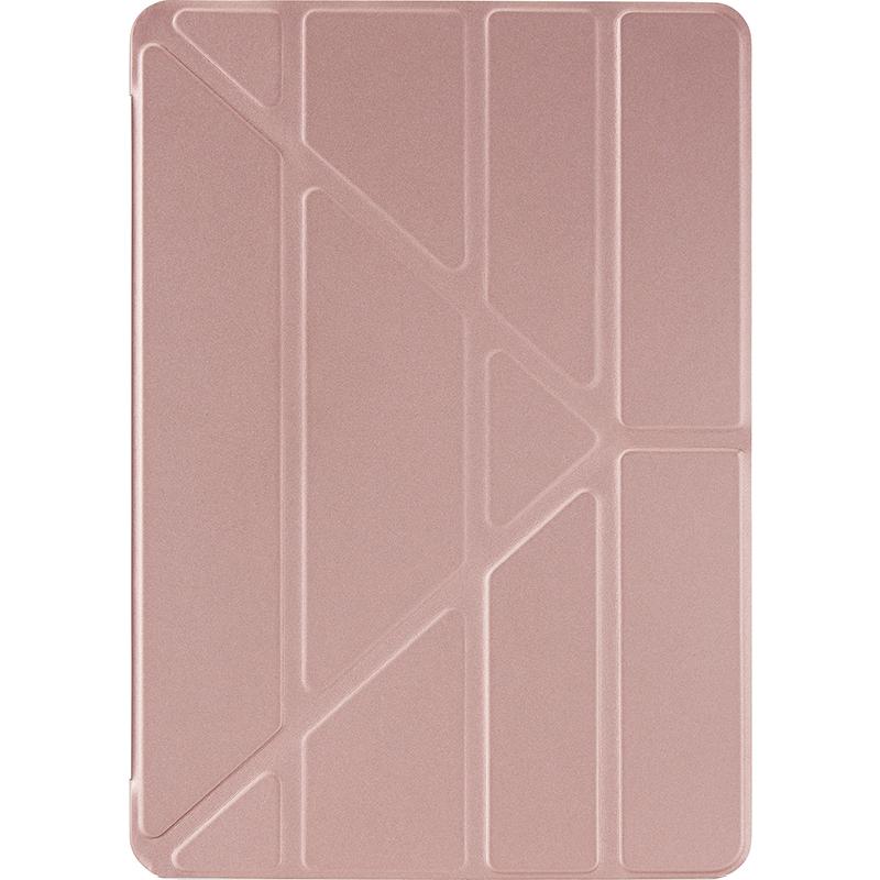Чехол Pipetto Origami для iPad 9.7 (2017/2018) розовое золото/прозрачныйЧехлы для iPad 9.7<br>Pipetto Origami — элегантный и минималистичный чехол.<br><br>Цвет: Розовое золото<br>Материал: Поликарбонат, полиуретановая кожа