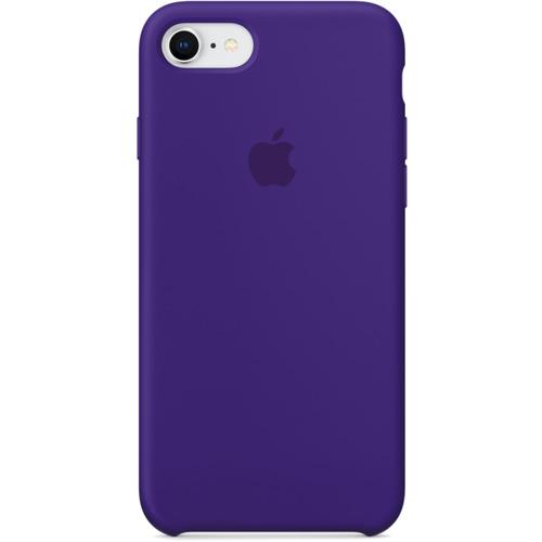 Силиконовый чехол Apple Silicone Case для iPhone 8/7 (Ultra Violet) ультрафиолетЧехлы для iPhone 7<br>Силиконовые чехлы, специально созданные для нового смартфона от Apple, в точности повторяют контуры Айфон, не делая его громоздким.<br><br>Цвет товара: Фиолетовый<br>Материал: Силикон
