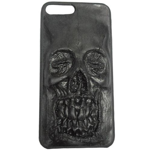 Чехол Evil Dead Чёрный череп для iPhone 7 PlusЧехлы для iPhone 7/7 Plus<br>Чехлы Evil Dead никого не оставят равнодушным!<br><br>Цвет товара: Чёрный