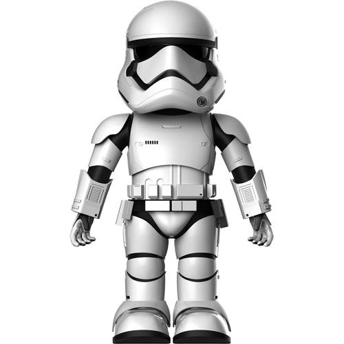 Интерактивный робот Ubtech Штурмовик Первого ордена First Order Stormtrooper RobotРоботы<br>Миниатюрная версия робота Штурмовика под командованием Первого ордена из известной во всем мире звездной саги!<br><br>Цвет товара: Белый<br>Материал: Поликарбонат