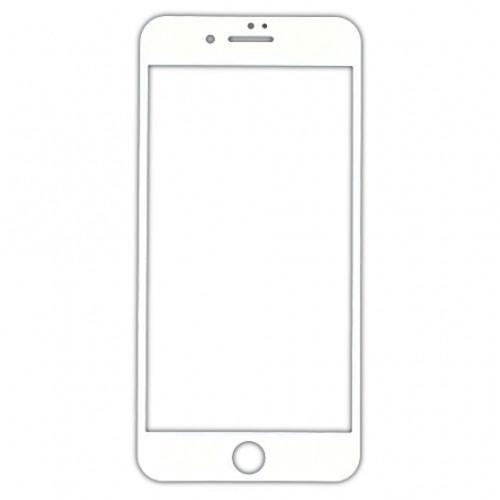 Защитное стекло CooYEE 3D для iPhone 6 / iPhone 6s белоеСтекла/Пленки на смартфоны<br><br><br>Цвет товара: Белый<br>Материал: Стекло