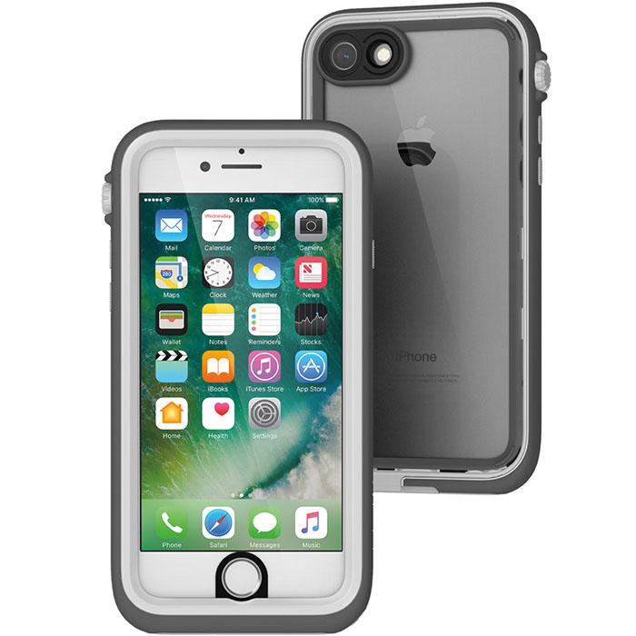 Чехол Catalyst Case для iPhone 7 серый/белыйЧехлы для iPhone 7<br>Catalyst Case сочетает высокую степень защиты и идеальную посадку на iPhone 7.<br><br>Цвет товара: Белый<br>Материал: Поликарбонат, полиуретан