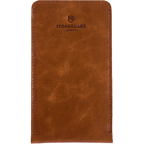 Чехол кожаный Stoneguard для iPhone 6/6s/7 коричневый (512)Чехлы для iPhone 6/6s<br>Кожаный чехол от Stoneguard — выбор тех, кто желает всегда идти в ногу со временем!<br><br>Цвет товара: Коричневый<br>Материал: Натуральная кожа, войлок