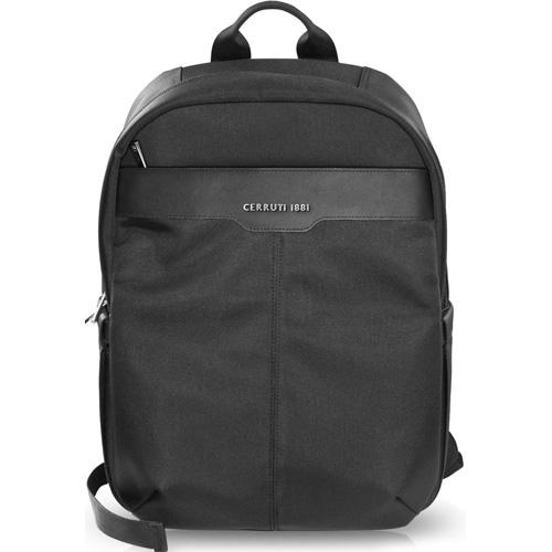 Рюкзак Cerruti 1881 для MacBook 15 (CEBP15NYBK) чёрныйРюкзаки<br>Компактный и стильный городской рюкзак Cerruti 1881 с кожаными элементами отделки вмещает в себя ноутбук с диагональю до 15 дюймов.<br><br>Цвет товара: Чёрный<br>Материал: Кожа, полиэстер