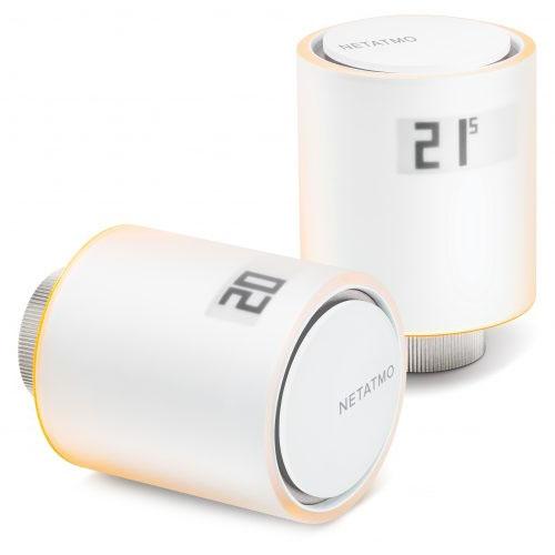 Умные радиаторные клапаны Netatmo Smart Radiator Valves Starter PackКлиматическая техника для дома<br>Netatmo Smart Radiator Valves существенно расширяют возможности контроля отопления!<br><br>Цвет товара: Белый<br>Материал: Пластик, металл, оргстекло
