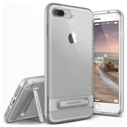 Чехол Verus Crystal Bumper для iPhone 7 Plus (Айфон 7 Плюс) серебристый (VRIP7P-CRBSS)