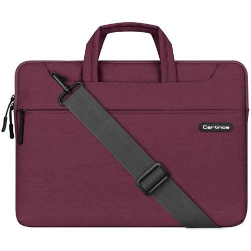 Сумка Cartinoe Starry Series для MacBook 13 бордоваяСумки для ноутбуков<br>Cartinoe Starry Series — стильная и удобная сумка для ноутбуков с диагональю до 13 дюймов.<br><br>Цвет товара: Красный<br>Материал: Текстиль