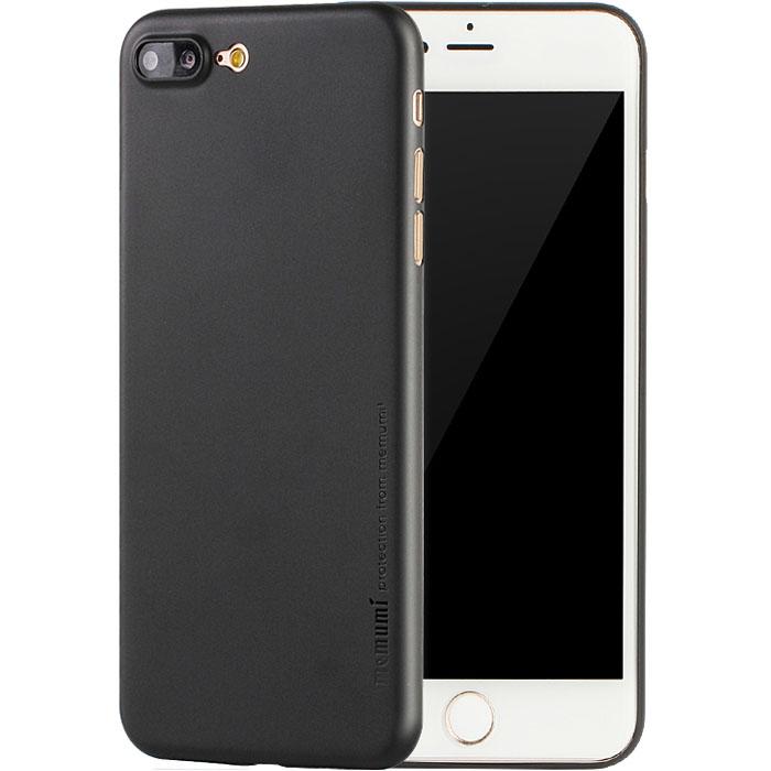 Чехол Memumi Ultra Slim 0.3 для iPhone 8 Plus чёрныйЧехлы для iPhone 8 Plus<br>Один из самых тонких, надёжных и привлекательных чехлов для вашего любимого смартфона!<br><br>Цвет: Чёрный<br>Материал: Пластик