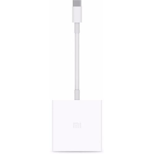 Переходник Xiaomi Type-C — USB HDMI OTG Adapter белыйКабели Type-C и другие<br>С Xiaomi Type-C — USB HDMI OTG Adapter проводить презентации или смотреть любимые фильмы одно удовольствие!<br><br>Цвет товара: Белый<br>Материал: Пластик