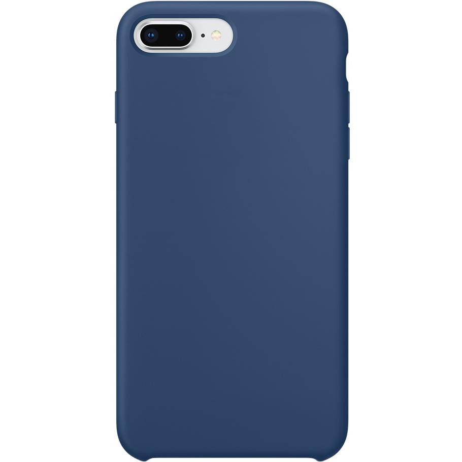 Силиконовый чехол YablukCase для iPhone 7 Plus / 8 Plus синий (Blue Cobalt)Чехлы для iPhone 7 Plus<br>YablukCase – стильный аксессуар, который обеспечит отличную защиту вашему iPhone!<br><br>Цвет: Синий<br>Материал: Силикон