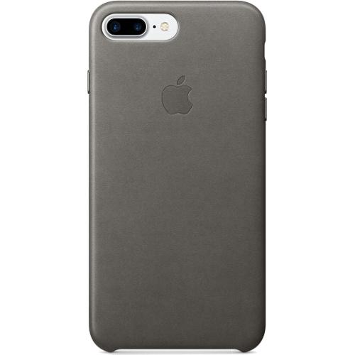 Кожаный чехол Apple Case для iPhone 7 Plus (Айфон 7 Плюс) грозовое небоЧехлы для iPhone 7/7 Plus<br>Кожаный чехол Apple Case для iPhone 7 Plus (Айфон 7 Плюс) грозовое небо<br><br>Цвет товара: Серый<br>Материал: Натуральная кожа