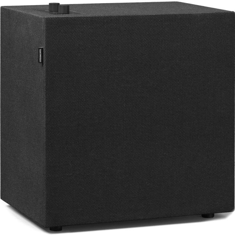 Акустическая система Urbanears Baggen чёрная (Vinyl Black)Колонки и акустика<br>Urbanears Baggen полюбится вам с первого взгляда и с первых нот звучания!<br><br>Цвет товара: Чёрный<br>Материал: Пластик, ткань