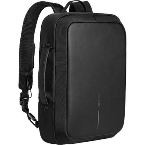 Деловой рюкзак XD Design Bobby BizzРюкзаки<br>Новейший рюкзак Bobby Bizz обеспечит вам комфорт и абсолютную безопасность.<br><br>Цвет товара: Чёрный<br>Материал: Полиэстер, металл, пластик
