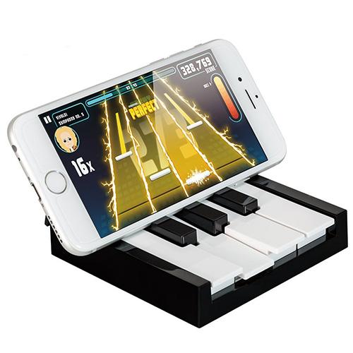 Беспроводной контроллер Ozaki O!arcade TAPiano Bluetooth для iOSДжойстики для смартфонов<br>Беспроводной контроллер Ozaki O!arcade TAPiano Bluetooth для iPhone / iPad / iPod<br><br>Цвет товара: Чёрный<br>Материал: Пластик