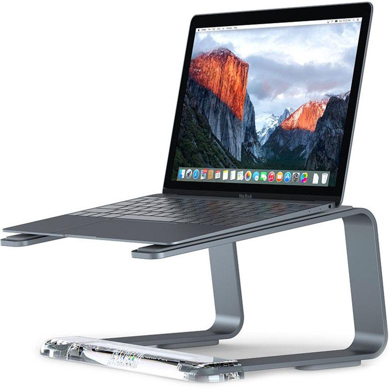 Подставка Griffin Elevator для MacBook серый космосПодставки для Mac<br>Griffin Elevator — это эргономичная алюминиевая подставка, которая позволяет еще проще и удобнее использовать Macbook.<br><br>Цвет товара: Серый космос<br>Материал: Алюминий