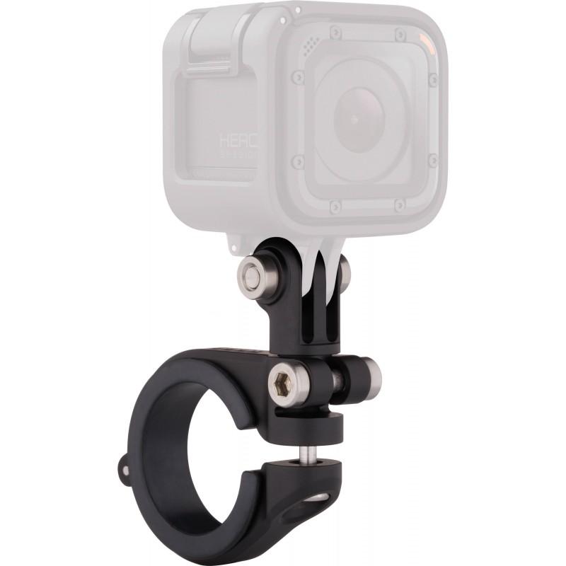 Крепление на на руль, подседельный штырь и раму велосипеда GoPro Handlebar/Seatpost/Pole Mount (AMHSM-001) для камер GoPro HeroАксессуары для видеокамер<br>Крепление GoPro Handlebar/Seatpost/Pole Mount очень компактное и лёгкое.<br><br>Цвет товара: Чёрный<br>Материал: Пластик, металл