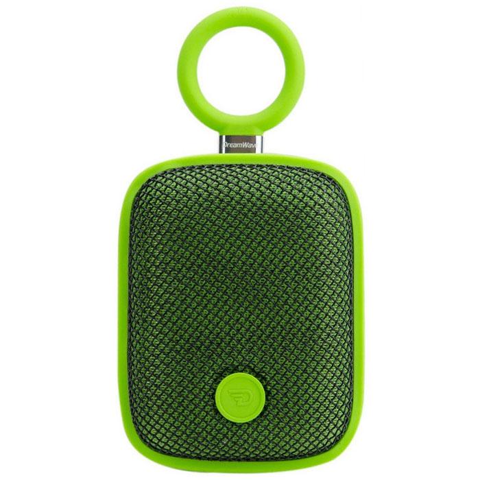 Портативная колонка DreamWave Bubble Pod зелёнаяКолонки и акустика<br>DreamWave Bubble Pod – это яркая и мощная портативная колонка!<br><br>Цвет товара: Зелёный<br>Материал: Пластик, силикон