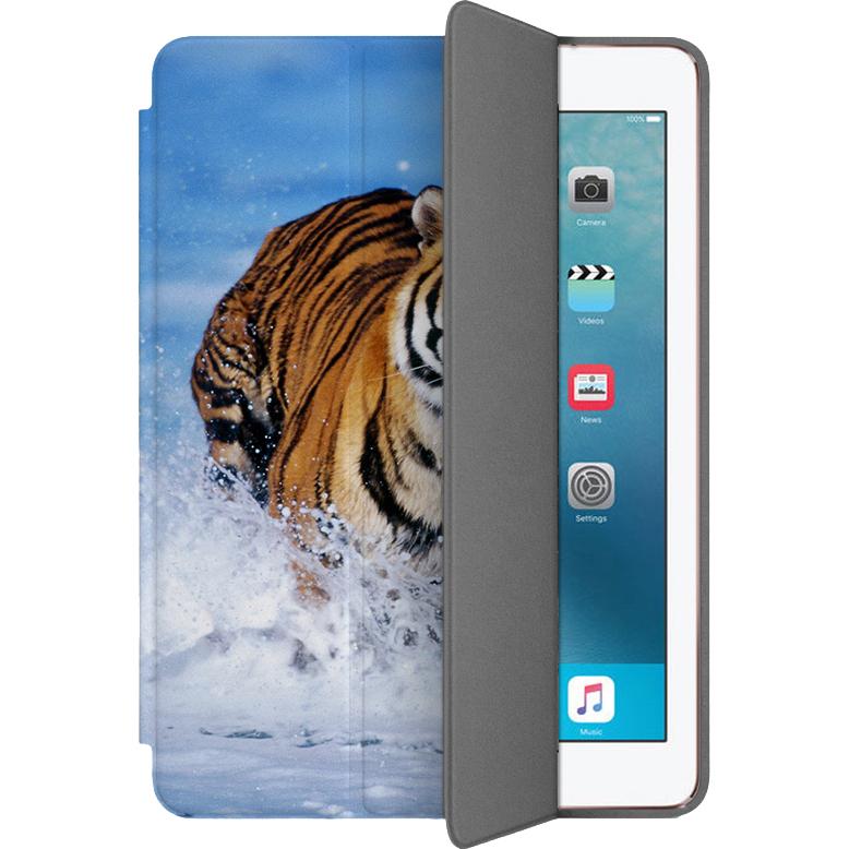 Чехол Muse Smart Case для iPad Pro (10.5) ТигрЧехлы для iPad Pro 10.5<br>Чехлы Muse Smart Case — это индивидуальность, насыщенность красок, оригинальные принты и надёжная защита от повреждений.<br><br>Цвет: Разноцветный<br>Материал: Поликарбонат, полиуретановая кожа